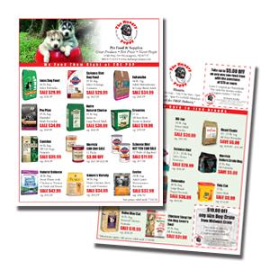 Solutions Pet Marketing Advertising Flyers